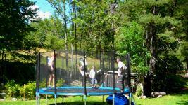 trampoling